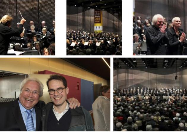 Letzte Fahrt Gnadensee Maurice Ravel Daphne und Chloé Sinfonischer Chor Konstanz Bodenseeforum